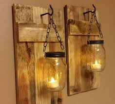 jar crafts home easy diy:  a rustic light on the western front