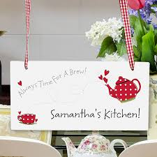 gift gifts sign personalized kitchen