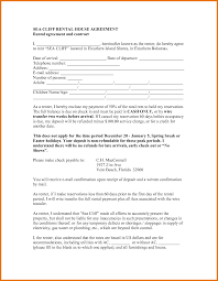 rental house agreement itinerary template sample sea cliff rental house agreement rental agreement and contract i pdf