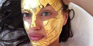 Victoria's Secret Models Are All About These <b>24-Karat Gold Face</b> ...