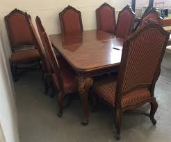 Henredon Dining Room Table Henredon Dining Room Table W 8ct Chairs 2ct Leaves