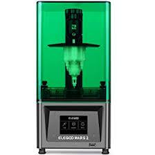 <b>ELEGOO</b> Mars 2 Mono MSLA <b>3D Printer</b> UV Photocuring LCD Resin ...