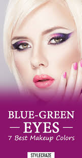cover image share makeup colors for blue green eyes