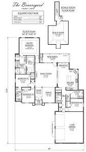 Ranch House Plans Bonus Room Above Garage