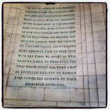 truth from the Thomas Jefferson Memorial | Fem Lib | Pinterest ... via Relatably.com