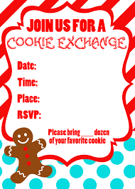 christmas cookie exchange invitations printable sample christmas cookie exchange invitations printable 69 for invitation ideas christmas cookie exchange invitations