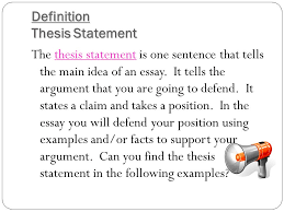 the roadmap of your essay the thesis statement introduction by the  introduction by the end of our lesson today you will have a better understanding