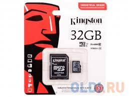 <b>Карта памяти</b> Micro SDHC 32GB Class 10 Kingston SDCIT/32GB + ...