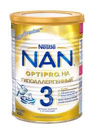 <b>Смесь NAN 3 гипоаллергенный</b>, для дет/питания Nestle 400г ...