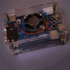 <b>Transparent Acrylic Shell</b> Housing Case for MiSTer FPGA ...