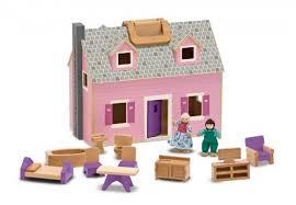 <b>Melissa</b> & <b>Doug</b> atveramā leļļu mājiņa no koka 13701 13701 ...