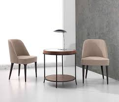 dining room chairs mobil fresno: side table contemporary wooden round artisan by planum furniture