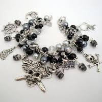 <b>Pirate Bracelets</b> and Charm <b>Bracelets</b> | <b>Pirate</b> Treasures Handmade ...