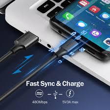 Ugreen <b>USB</b> Type <b>C Кабель USB</b> С Быстрой Зарядки <b>Кабель</b> для ...