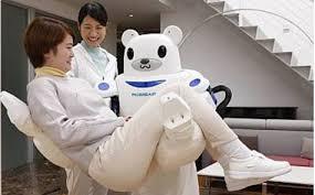Robear: <b>робот</b>-<b>медведь для</b> транспортировки пожилых людей ...