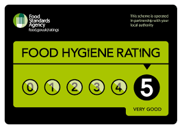 nursery inspections evaluations little acorns day nursery food hygiene fhrs 5 logo