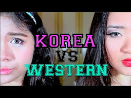 make up ala korea vs make up ala barat l makeup tutorial indonesia