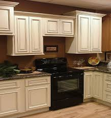 kitchen cabinets antique gold wall