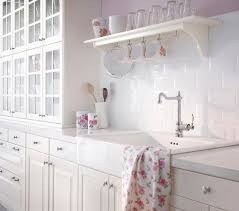 chic kitchen soft pink