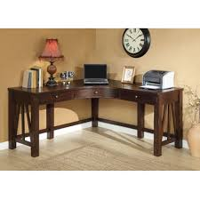 corner home office desk lost in wood mood amaazing riverside home office executive desk