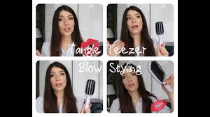 <b>Tangle Teezer blow styling</b> обзор + Тест-Драйв - YouTube