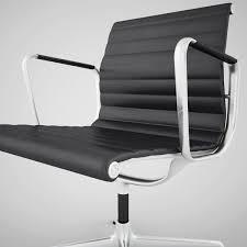 vitra aluminium chair ea 108 3d model max obj fbx 4 aluminium chair ea 108