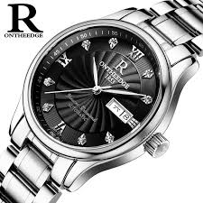 <b>RONTHEEDGE</b> Brand <b>Men</b> 's watches <b>automatic mechanical</b> watch ...