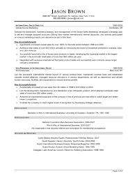 Example Of Sales Manager Resume  sales manager resume examples       Resume For