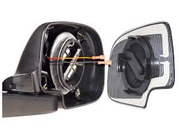 Redi-Set-Go Motor Mounted Replacement Mirrors | Burco Inc