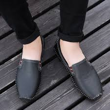 2020 Classic Casual <b>Men Shoes</b> Fashion Soft Loafers <b>Male British</b> ...