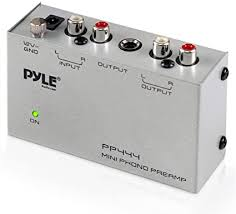 Pyle Phono Turntable Preamp - Mini Electronic Audio ... - Amazon.com
