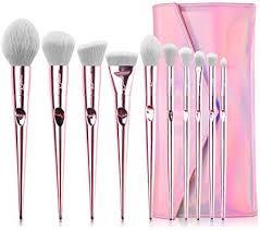 <b>Makeup</b> Brushes MSQ <b>Makeup</b> Brush Set Professional <b>10Pcs Pink</b> ...