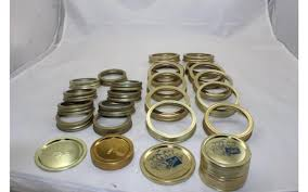 Fits Bands <b>Canning</b> Jar Mouth 59 Lot Wide New Rings Mouth Large ...