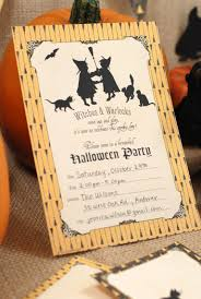 halloween invitations that you can print from home a halloween party invitation standing up against a pumpkin
