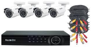 <b>Комплект видеонаблюдения Falcon</b> Eye FE-104MHD KIT ДАЧА 4 ...