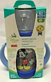 NUK <b>DISNEY BABY</b> MICKEY MOUSE <b>LEARNER</b> CUP W ...