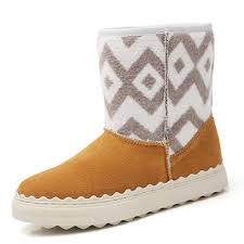 <b>women winter fur</b> lining keep warm <b>suede</b> ankle <b>snow</b> boots at ...
