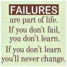 FAILURE QUOTES image quotes at hippoquotes.com via Relatably.com