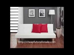 dhp aria futon white aria futon sofa bed