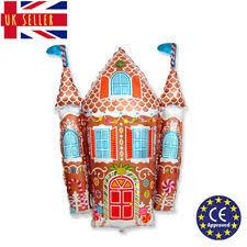 "gingerbread house candy <b>castle</b> christmas supershape 34"" foil ..."