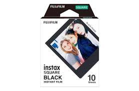 <b>Instax Square</b> Film - <b>Black</b> 10 Pack
