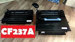 <b>Картридж</b> HP37A (CF237A) Разборка. Заправка. Инструкция ...