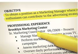 resume with objective what to say in a resume objective