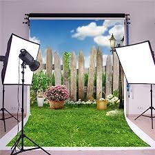 SUSU 5x7ft(<b>150x220cm</b>) Family Garden Photography <b>Backgrounds</b> ...