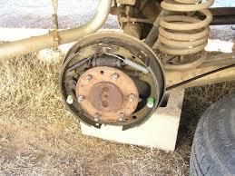 front rear brake pad