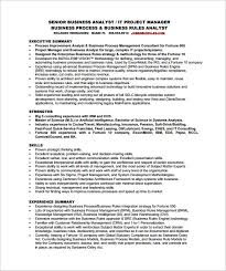 business analyst resume template –    free word  excel  pdf free    senior business analyst resume free pdf template