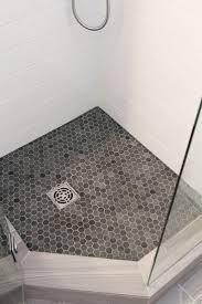 white bathroom floor: beautiful bathroom renovation project featuring quot x quot white subway tiles quot