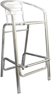 patio stool: double tube aluminum bar stool  double tube aluminum bar stool