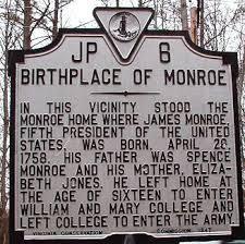 「President James Monroe doctrine 1823」の画像検索結果