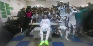 Раздевалка «<b>Краснодара</b>» после победы над «Арсеналом» (Тула).